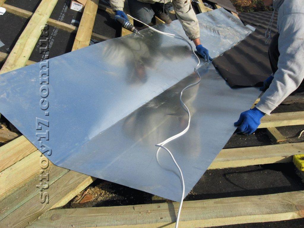 Возведение крыши Водобуд фото 1
