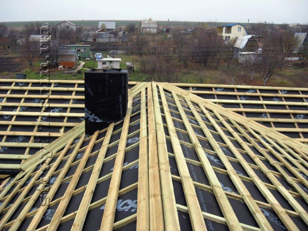 Возведение крыши Водобуд фото 5
