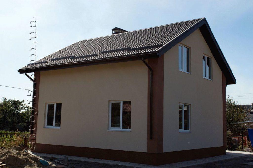 Каркасный частный дом фото 7