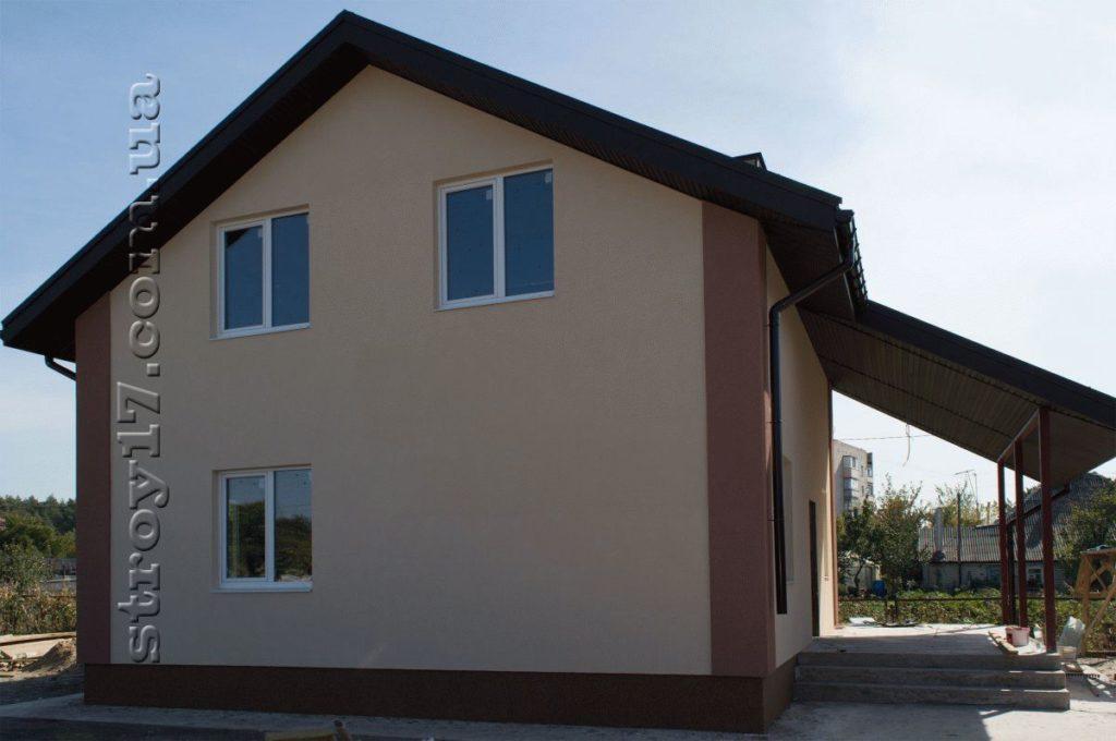 Строительство частного каркасного дома фото 9