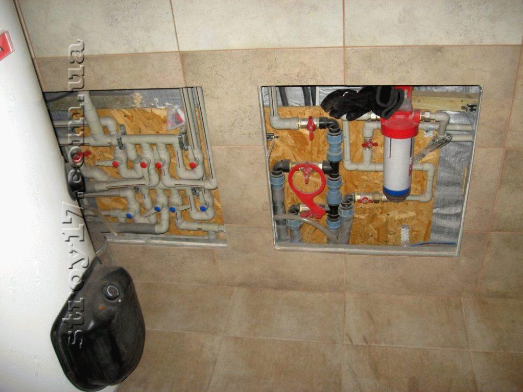 Отопление каркасного дома по проекту