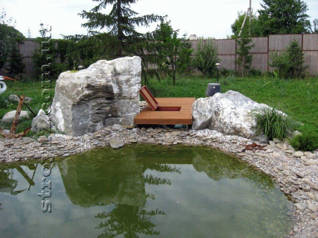 Декоративный пруд фото 2