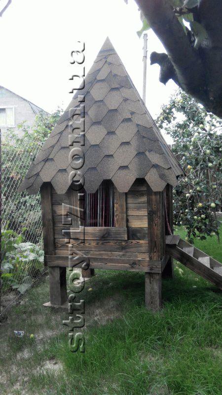 Облагораживание дворовой территории каркасного дома