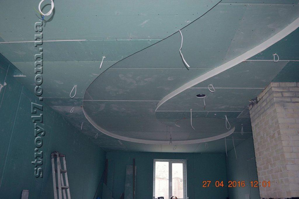 Монтаж потолка по проекту Z197 фото