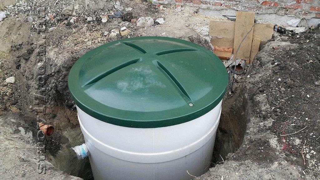 Монтаж автономной канализации акватек по проекту Водобуд-2 фото 2