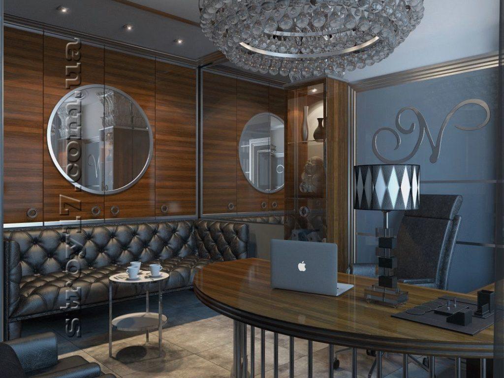 3Д визуализация ремонта офиса фото 3