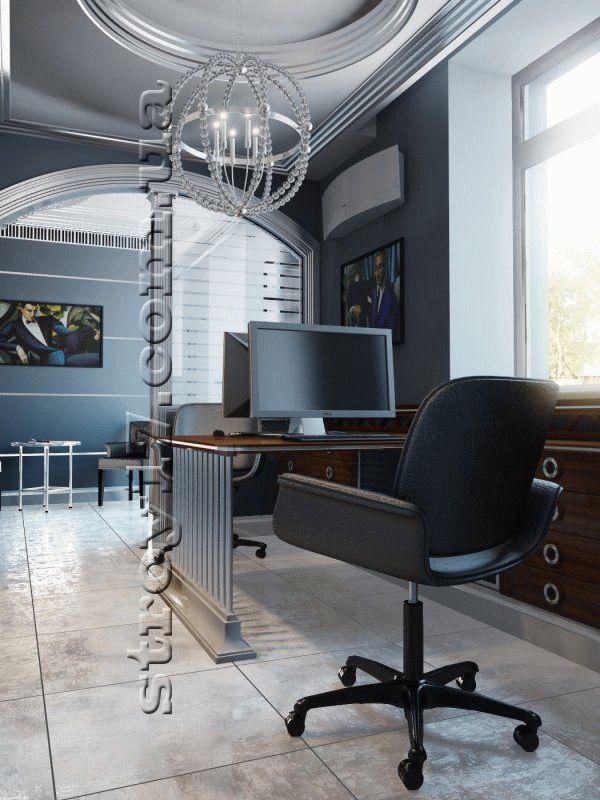 3Д визуализация ремонта офиса фото 8