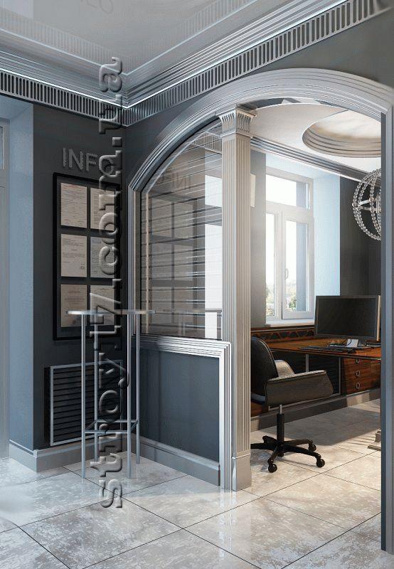 Визуализация ремонта офиса фото 3