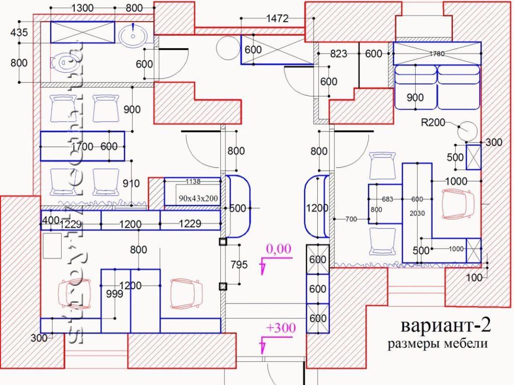 План перепланировки помещения под офис фото