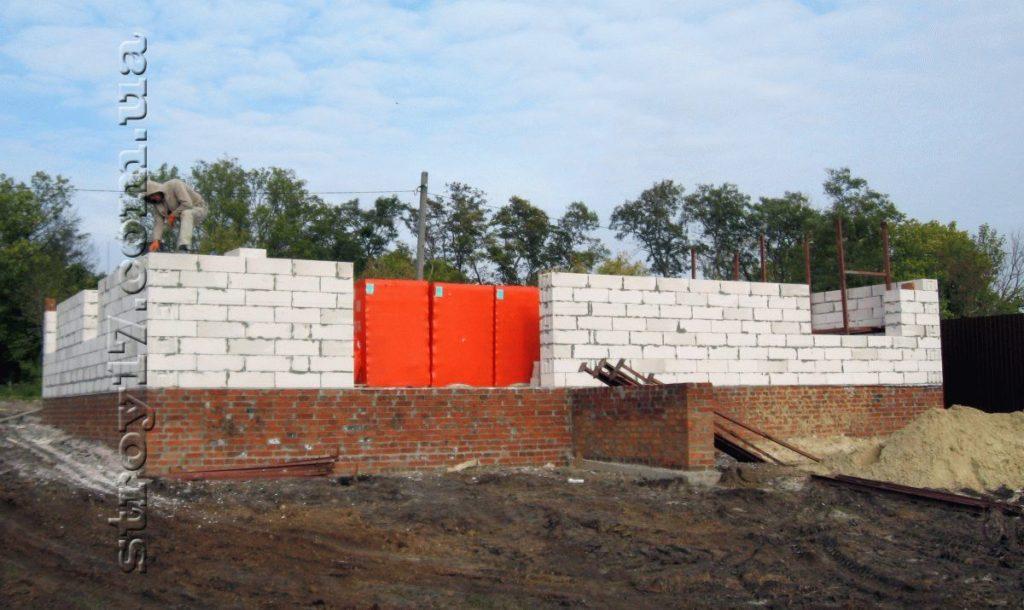 Строительство частного дома из газоблоков фото 10