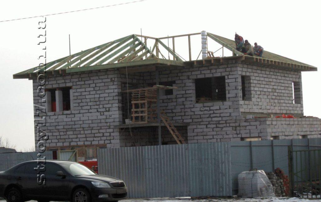 Частный дом из газоблоков фото 3