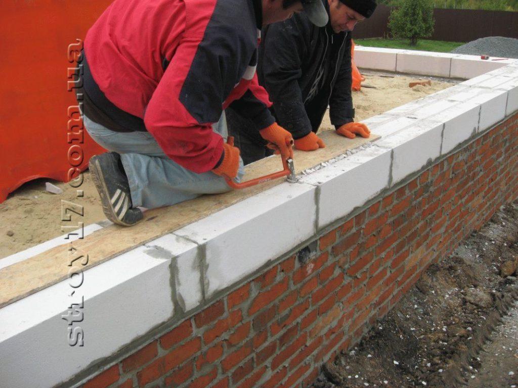 Строительство частного дома из газоблоков фото 8