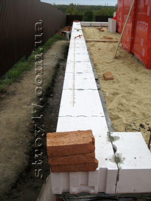 Строительство частного дома из газоблоков фото 9