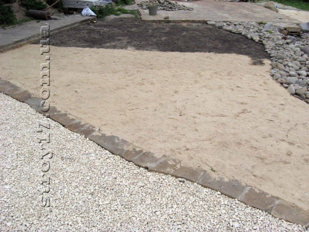 Посыпка песком фото