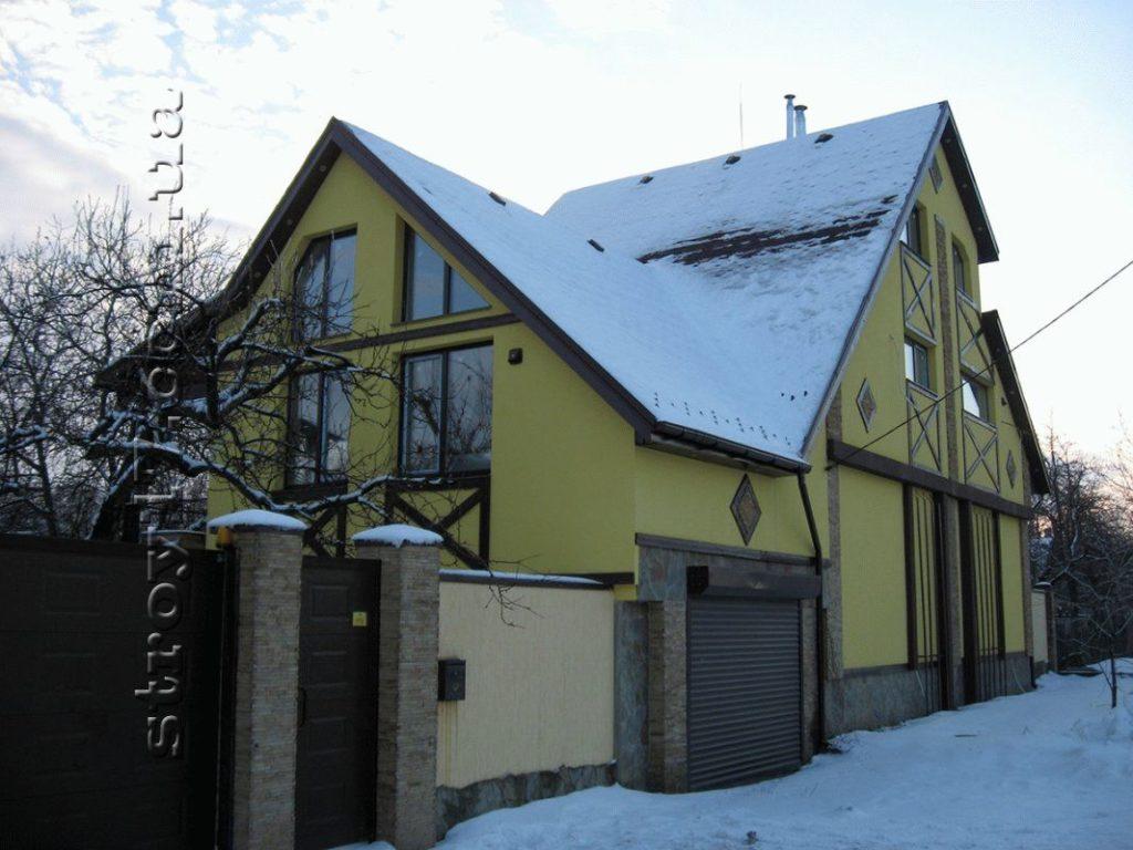 Реконструкция дома и благоустройство двора