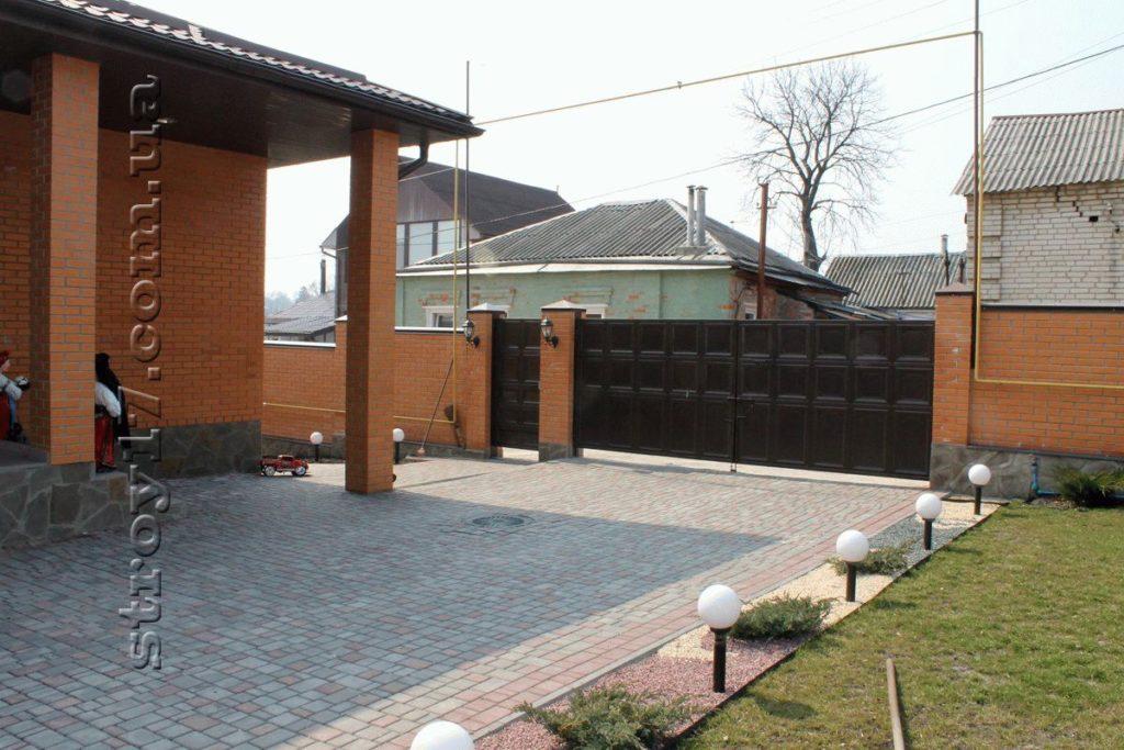 Частный дом из поризованной керамики фото 2
