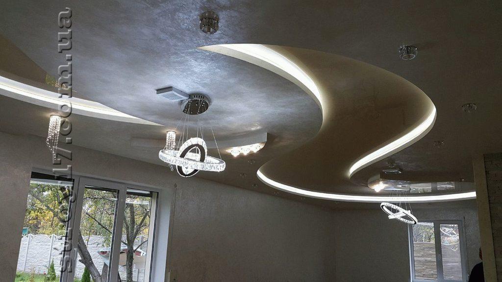 Устройство потолка по проекту Z197 фото 2