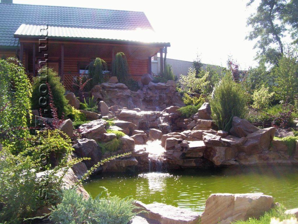 Сооружение каскадов и водопадов фото 3