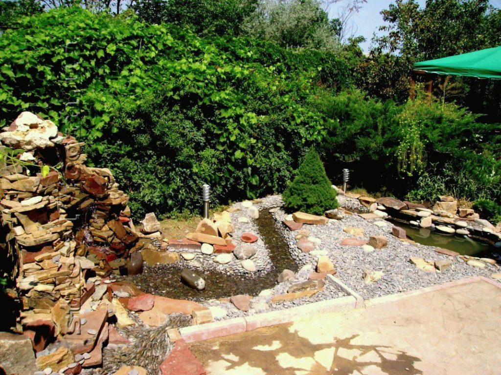 Водопад на дачу фото 4