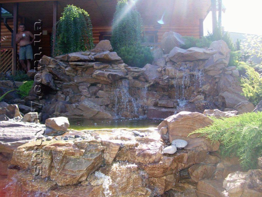 Декоративный водопад фото 1