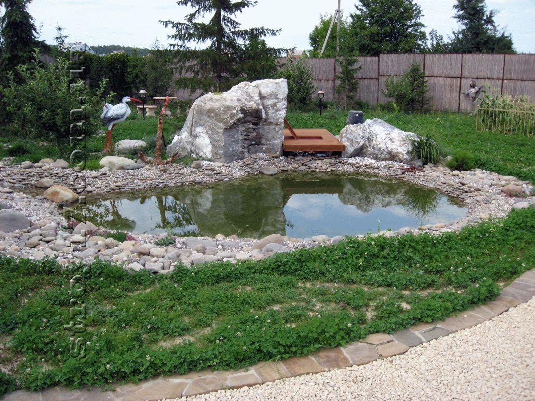 Декоративный пруд фото 5