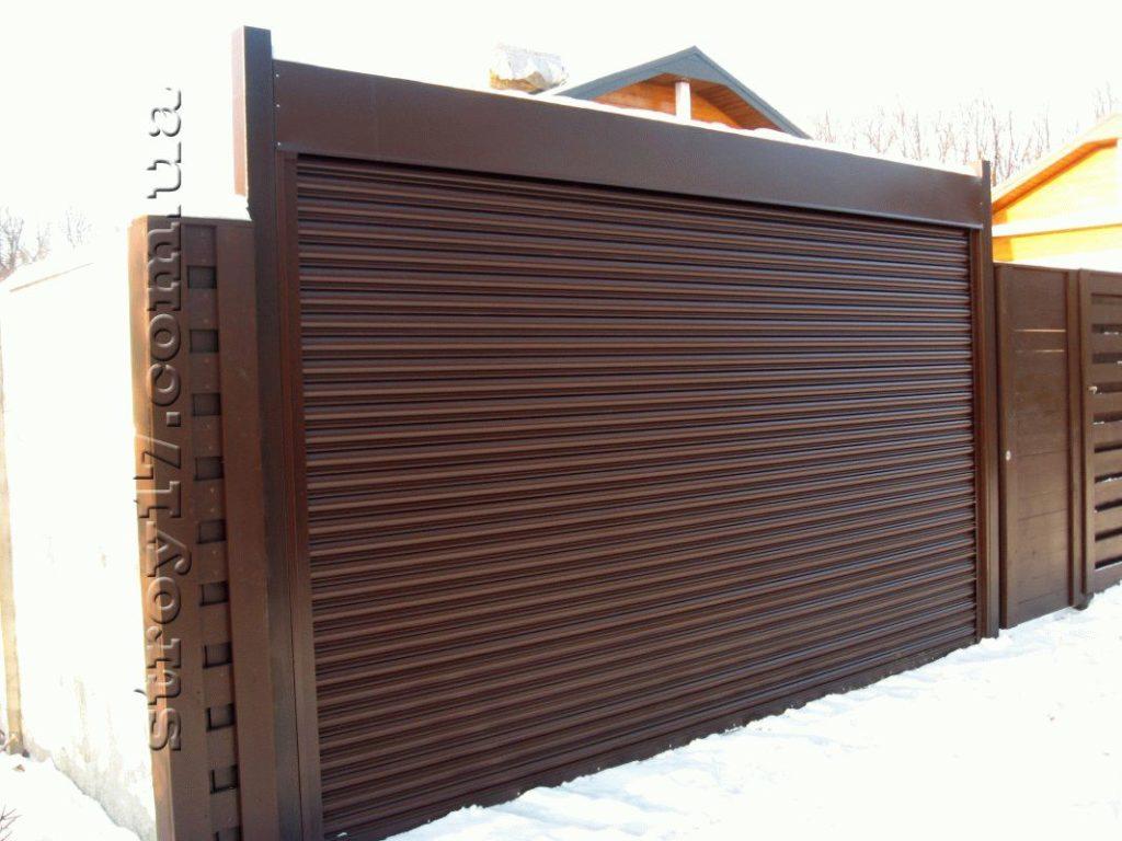 Забор по проекту