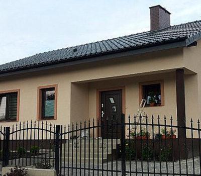 Смета на строительство одноэтажного дома о каркасной технологии под отделочные работы по индивидуальному проекту Z78
