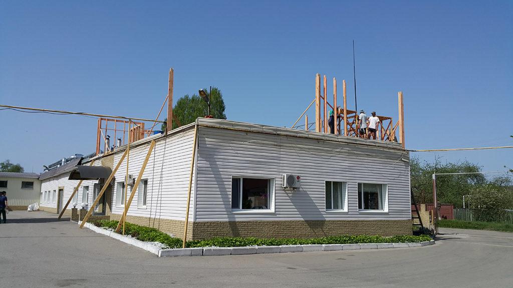 Реконструкция здания типографии фото 1