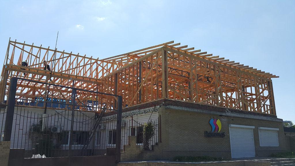 Реконструкция здания типографии фото 3