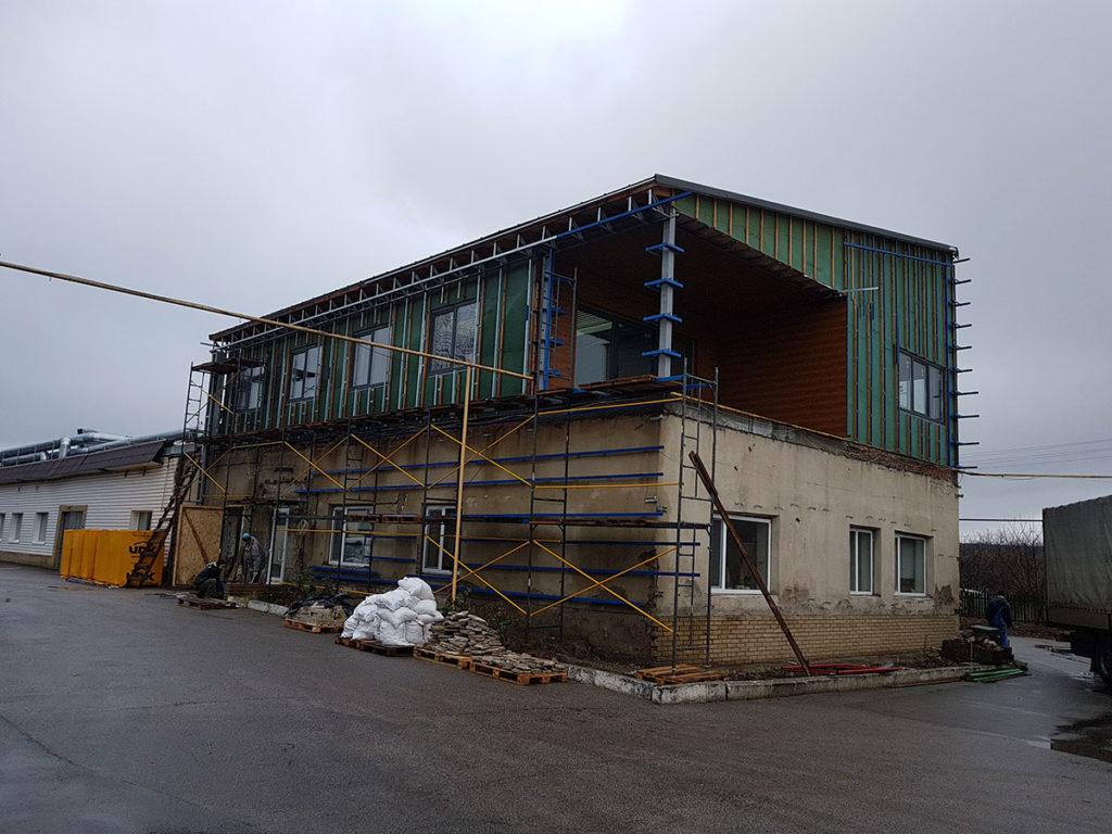 Реконструкция здания типографии фото 4