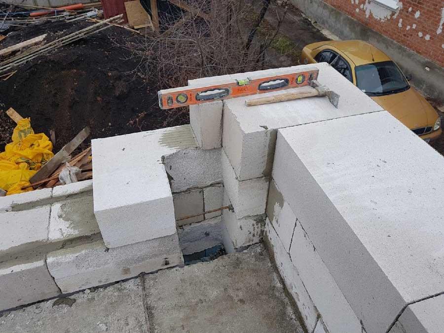 Строительство домов из газобетона в Харькове