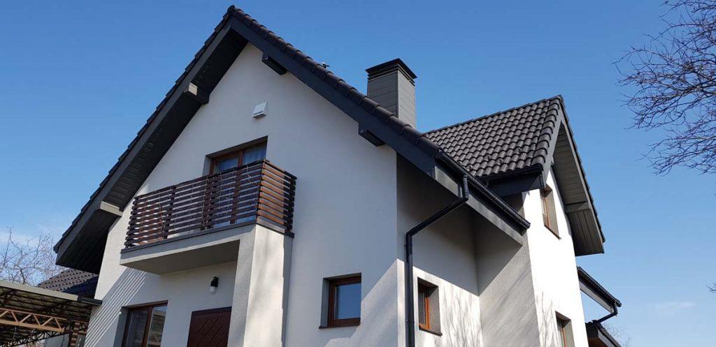 Фасад дома из керамики фото 1