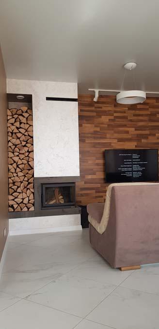 Интерьер в доме из керамики фото 7