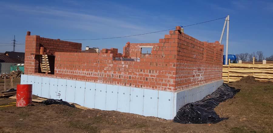 Кладка стен из блоков 2НФ фото