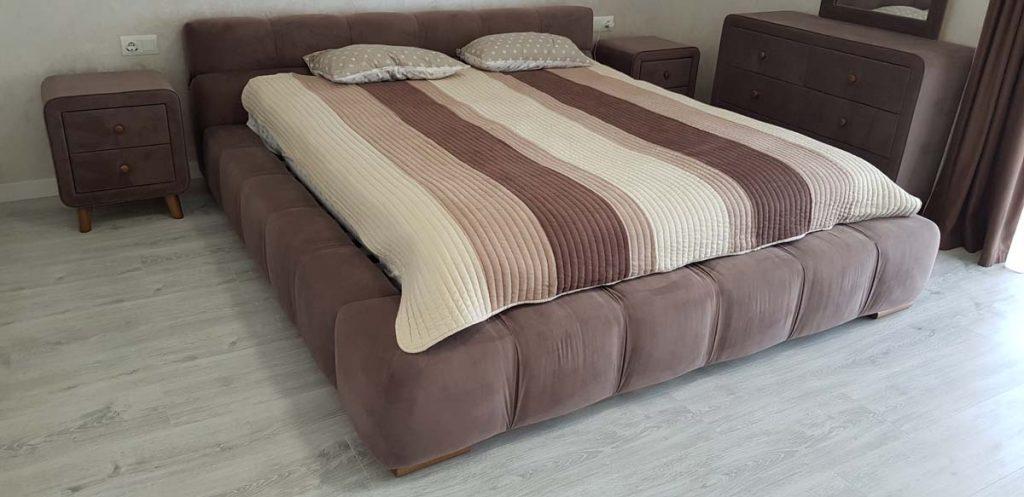 Кровать в доме из керамики фото 1