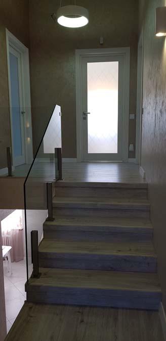 Лестница в доме из керамики фото 3