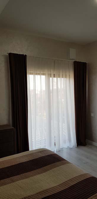 Спальня в доме из керамики фото 2
