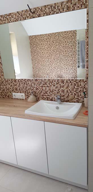 Ванная комната в доме из керамики фото 1