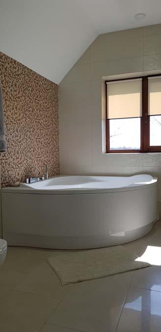 Ванная комната в доме из керамики фото 2