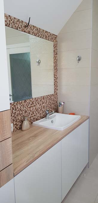 Ванная комната в доме из керамики фото 4