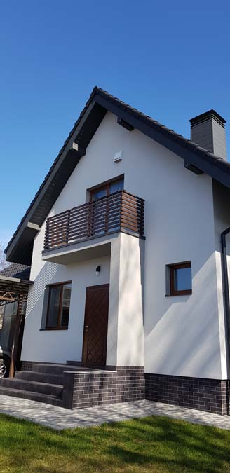 Дом из керамических блоков фото 2