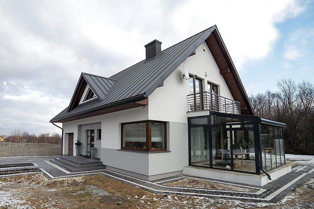 Дом с мансардой 150 м.кв.