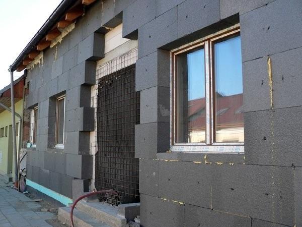 Утепление фасадов неопором