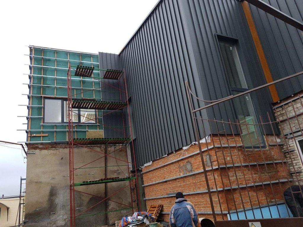 Вентилируемый фасад фото 3