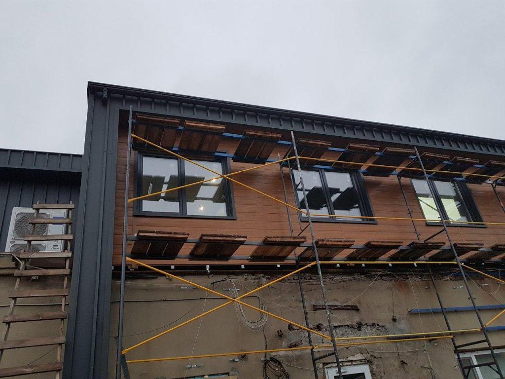 Вентилируемый фасад фото 4