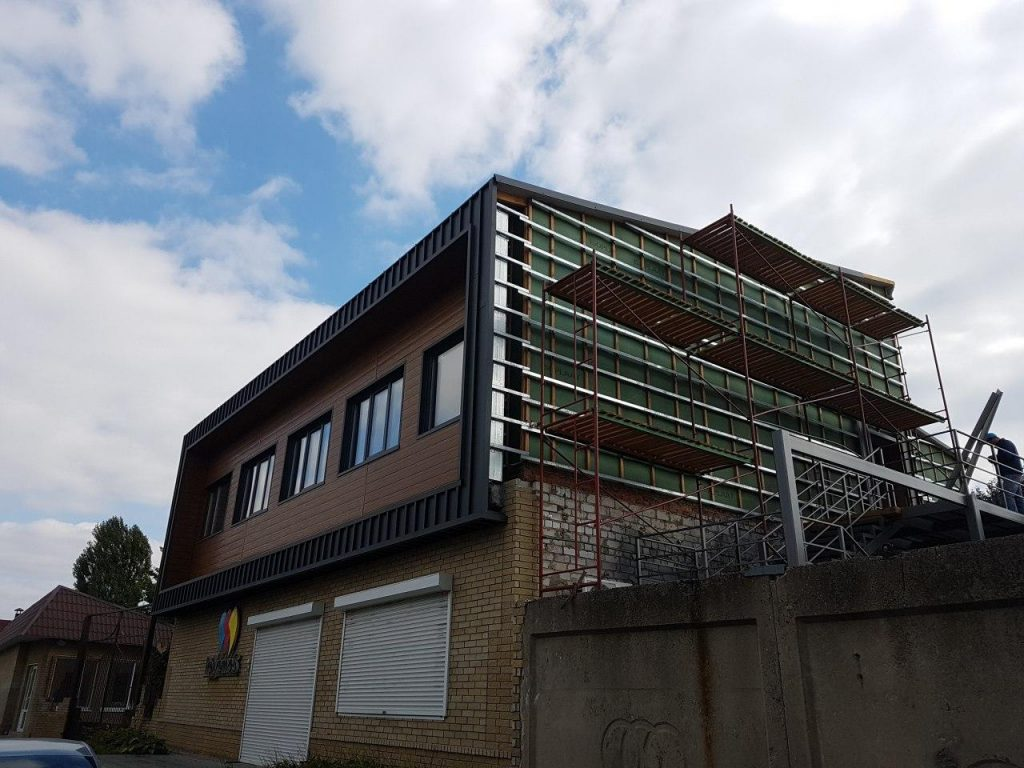 Вентилируемый фасад фото 6