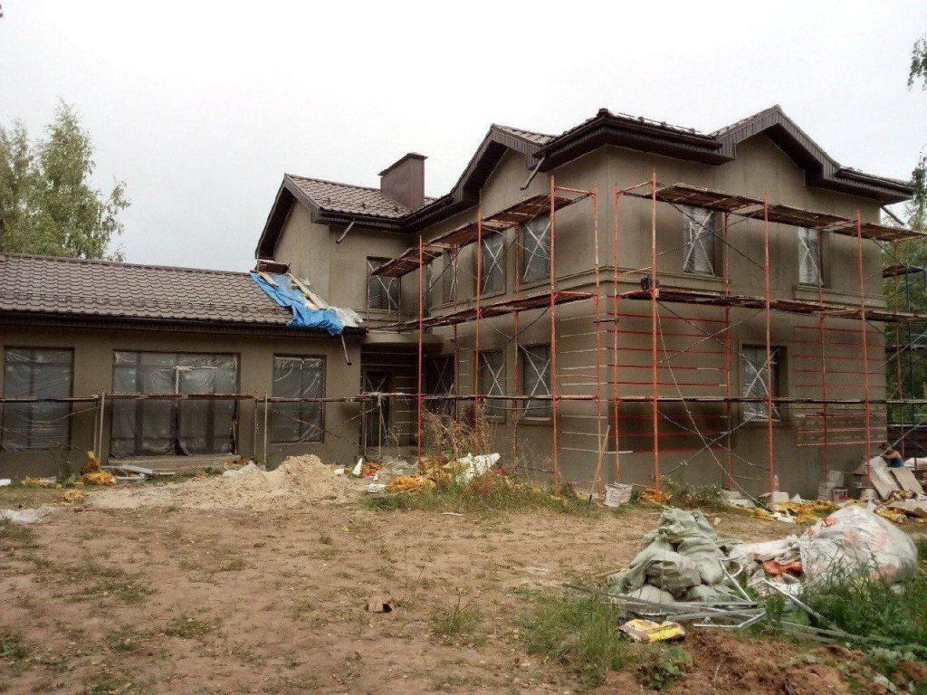 Утепление фасада каменной ватой фото 1