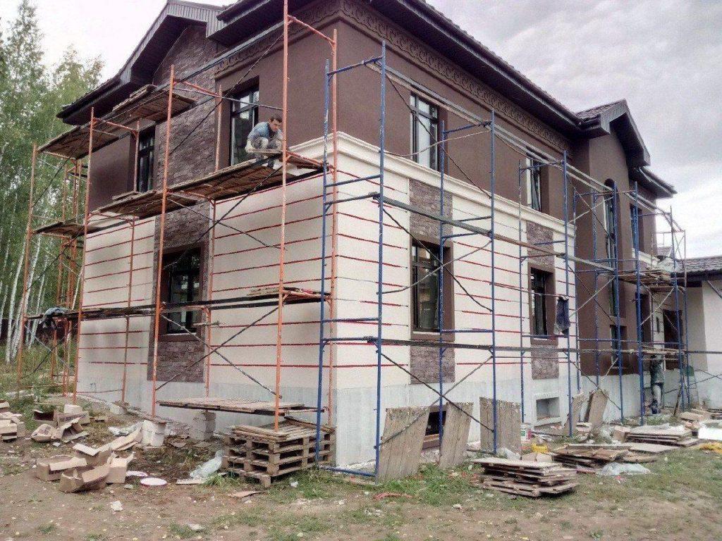 Утепление фасада каменной ватой фото 4