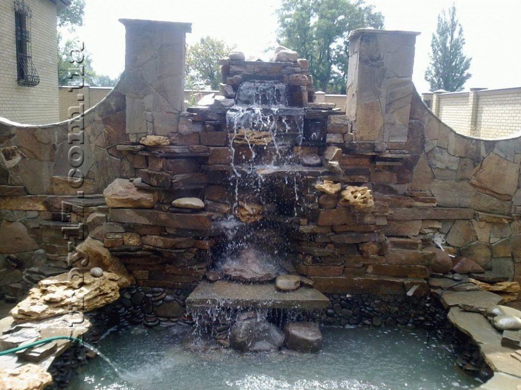 Декоративные водопады фото 2
