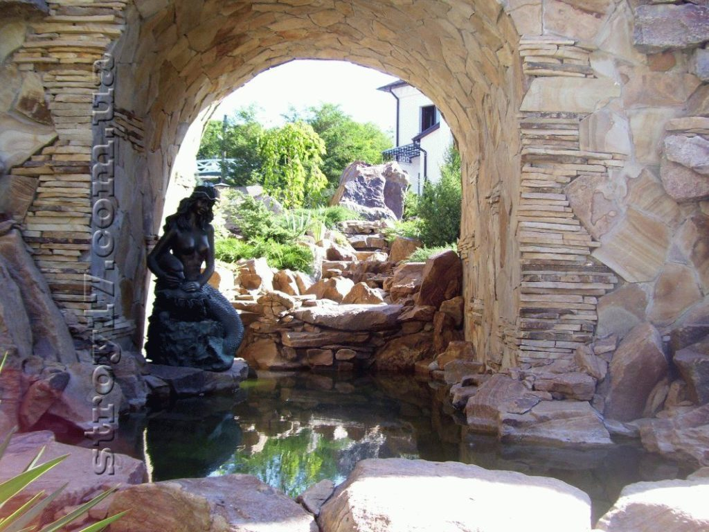 Декоративный водопад фото 2